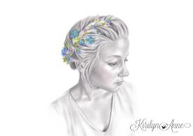 SAVANNA, Graphite pencil, acrylic, watercolour